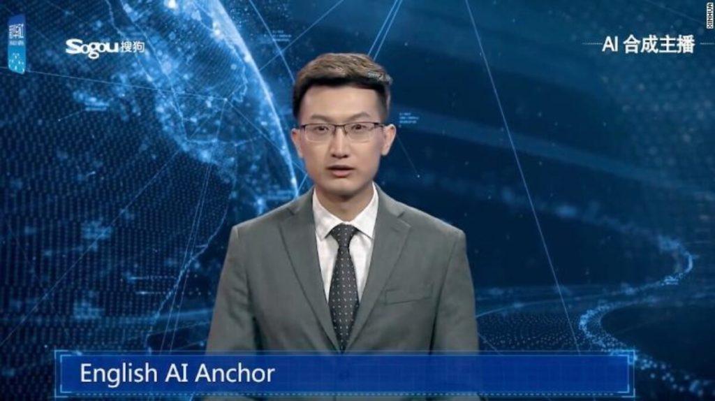 «Двойник» популярного в Китае телеведущего Цю Хао.
