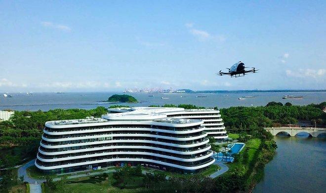 LN Garden Hotel создаст городскую инфраструктуру для такси-беспилотников