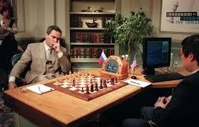 Сражение Гарри Каспарова и суперкомпьютера Deep Blue