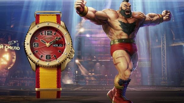 Компания Seiko представила коллекцию спортивных часов Seiko 5