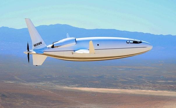 Американская компания Otto Aviation представила самолет в форме пули - Celera 500L.