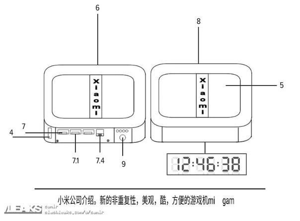 Инсайдеры портала Slashleaks опубликовали патентное изображение популярной телевизионной приставки - Xiaomi Mi TV Box 2.