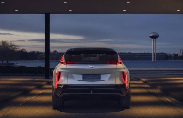 Cadillac представила свой первый электрический внедорожник