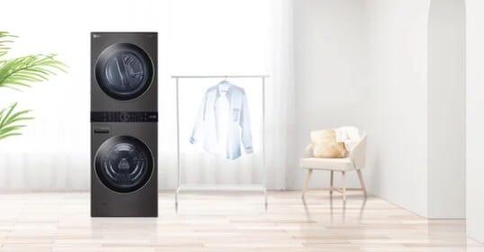 LG представила «двухэтажную» стиральную машину - WashTower.