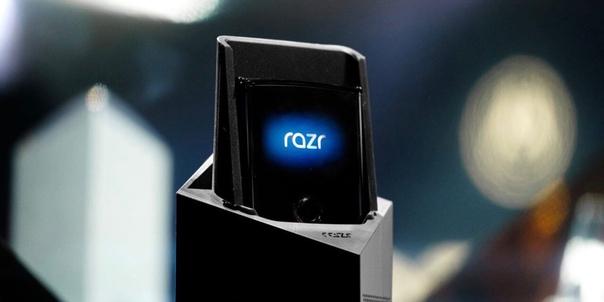 Motorola объявила дату презентации гибкой раскладушки RAZR