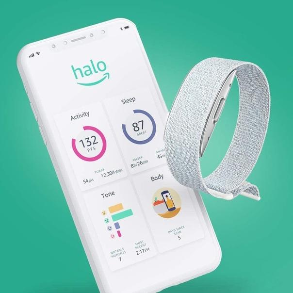Amazon представила фитнес-браслет - Halo.