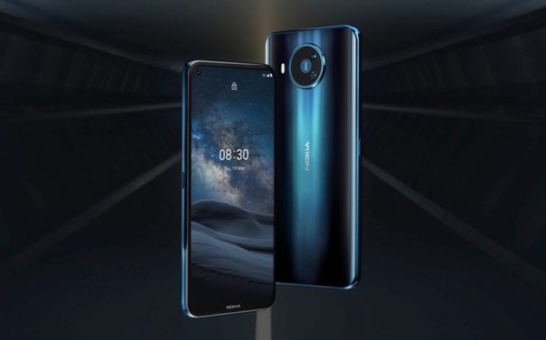 Появился внешний вид - Nokia 8.3 5G.