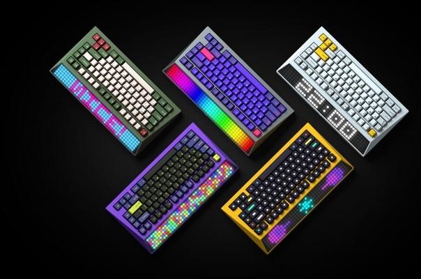 Стартап из Гонконга представил первую в мире настраиваемую светодиодную механическую клавиатуру