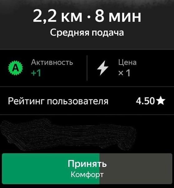 Водители «Яндекс.Такси» теперь могут видеть рейтинг пассажиров