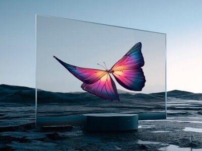 Xiaomi представила первый в мире коммерческий прозрачный OLED дисплей
