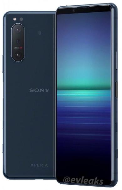 Инсайдер Эван Бласс поделился пресс-рендерами смартфона Sony Xperia 5 II.