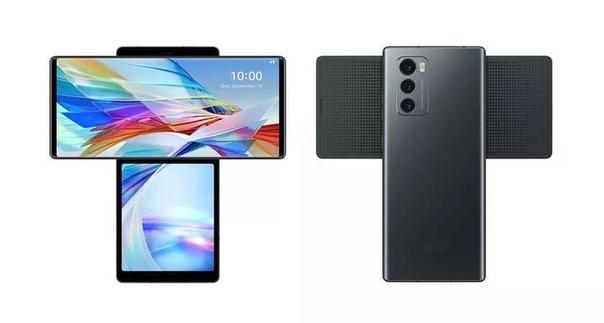 LG представила т-образный смартфон - Wing.