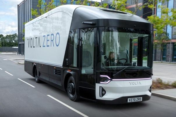 Шведский стартап Volta Trucks - представил электрогрузовик - Volta Zero.