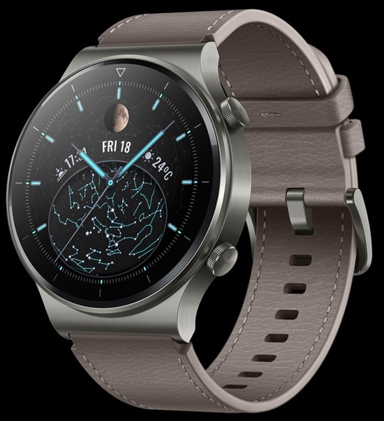 Huawei представила умные часы - Watch GT2 Pro.