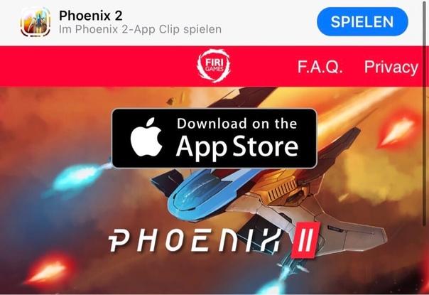 Студия Firi Games представила космическую аркаду Phoenix 2, которую не нужно скачивать на смартфон.
