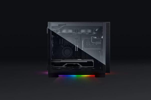 Razer представила фирменные корпуса для игровых ПК - Razer Tomahawk ATX и Tomahawk Mini-ITX.