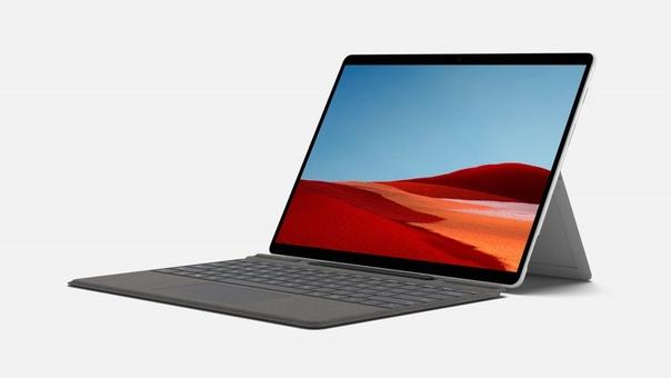 Microsoft представила обновление планшета Surface Pro X.