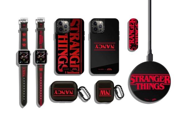 Netflix и Casetify представили аксессуары для продукции Apple в стиле сериала «Очень странные дела».