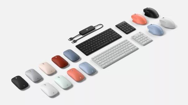 Также, Microsoft представила ноутбук Surface Laptop Go.