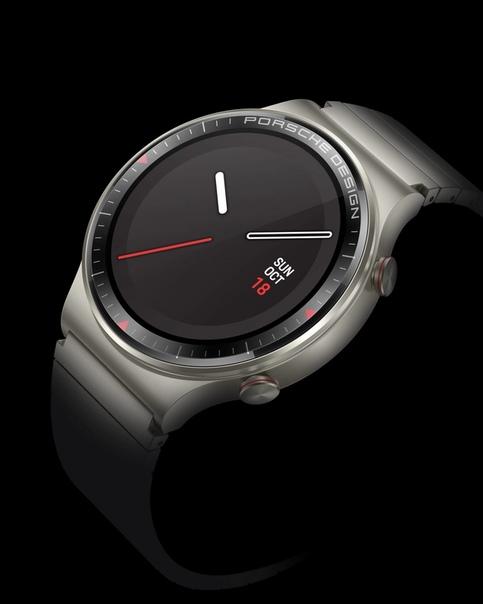 Следующая новинка от Huawei - умные часы Watch GT 2 Porsche Design.