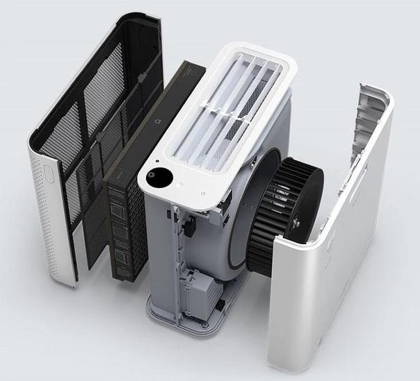 Xiaomi представила очиститель воздуха под брендом Mijia - Air...