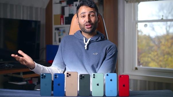 YouTube-блогер сравнил время автономной работы iPhone 12 и iPhone 12 Pro с прошлым поколением телефонов Apple: