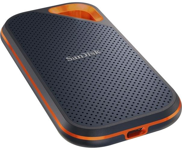 Компания Western Digital представила новый портативный твердотельный накопитель SanDisk Extreme Portable SSD второго поколения.