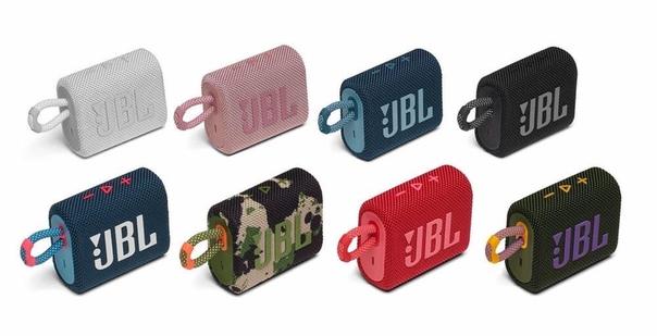 JBL представила в России свою самую компактную Bluetooth-колонку Go 3.