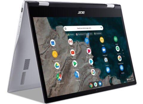 1. Acer представила ультрапортативный хромбук на базе мобильн...