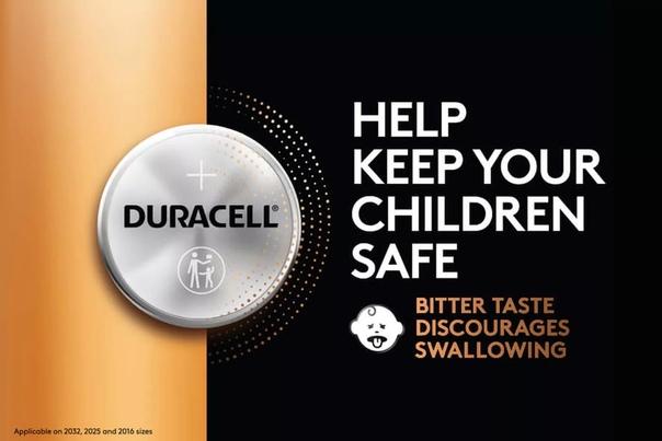 Duracell придумала оригинальный способ защиты батареек от детей.