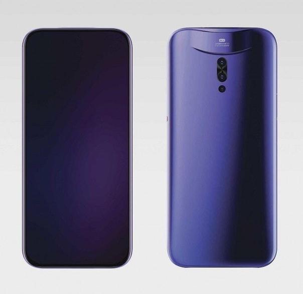 Vivo показала концепт смартфона IFEA с выдвижной и съёмной камерой.