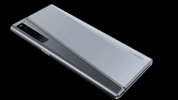 OPPO показала смартфон OPPO X 2021 с растягивающимся гибким дисплеем.