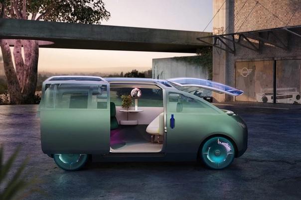 Британский автопроизводитель MINI, принадлежащий BMW, представил необычную концепцию городского минивэна будущего — Vision Urbanaut.