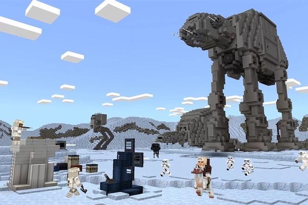 Звездные войны теперь и в Minecraft.