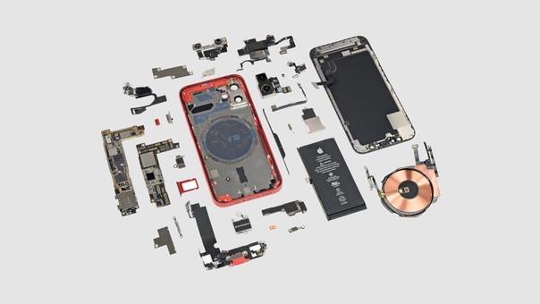iFixit разобрали iPhone 12 mini: